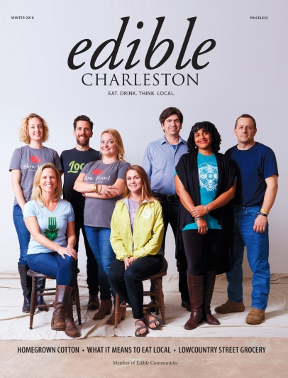 Edible Charleston Winter 2018 Cover