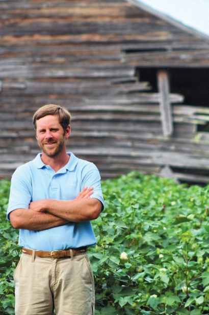 At McIntosh, owner of Homegrown Cotton