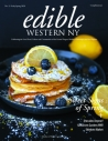 Edible Western NY Early Spring 2020 magazine cover